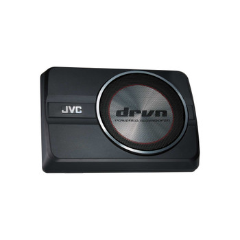 "JVC CW-DRA8 DRVN 8"" Compact Powered Subwoofer"