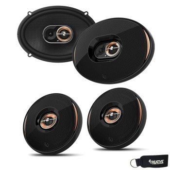 "Infinity KAPPA-62IX 6.5"" Coaxial Speakers + Infinity KAPPA-93IX 6x9"" Coaxial Speakers"