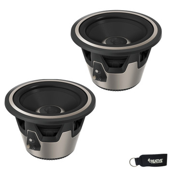 "Infinity - Two KAPPA 10"" (250mm) 450Watt RMS High-Performance Subwoofers, Switchable 2 OR 4 OHM"