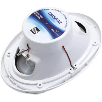 "Marine Bluetooth Audio Kit with Dual Radio Receiver w/ USB, Aux (no CD) 2 6.5"" Marine Towers Speakers and 2 6x9 Speakers"