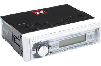 "UTV Stereo - Dual Marine Media Receiver w/ USB, AUX (no cd), Four 6.5"" Marine Speakers W/ Enclosures & Bluetooth Adapter"