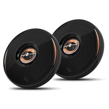 "Infinity - Two Pairs Of KAPPA-62IX 6.5""Coax Speakers + ARC X2 450.4 500 Watt 4 Channel Amplifier + Wiring Kit"