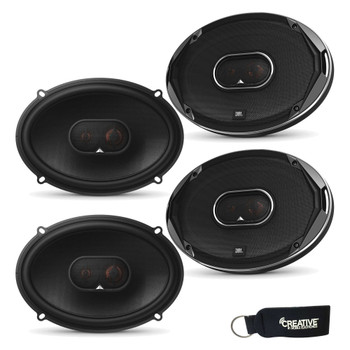 JBL STADIUMGTO930 Stadium Series 6x9 Inch Step-up Multielement Car Audio Speaker Systems - Two Pairs