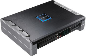 Alpine PDR-F50 4-Channel Amplifier w/ Type-R R-S68 6x8 Coaxial Speakers and SBT-S10V 10 Inch Truck Enclosure & wire kit