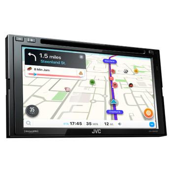 "JVC KW-V640BT 6.8"" Clear Resistive Touch Monitor / WebLink / Bluetooth® /13-Band EQ / JVC Remote App"