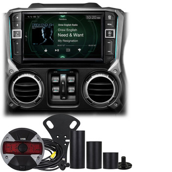 "Alpine Restyle - i209-WRA 9"" compatible with CarPlay Radio, Multimedia system & HCE-TCAM1-WRA Rear View Camera"