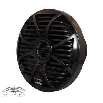 Wet Sounds - Two Pairs of SW-650-B Black Marine Speakers & A SS-10BS4 Black Series 4-Ohm Subwoofer