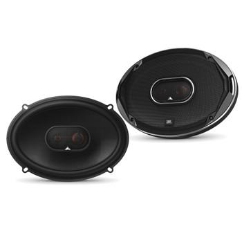 JBL - 2 Pairs Of Stadium GTO930 6x9-Inch Coax Speakers + ARC Audio X2 450.4 500 Watt 4 Channel Amplifier + Wiring Kit