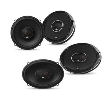 JBL - Stadium GTO620 6.5-Inch Coax Speakers, and a Pair Of Stadium GTO930 6x9-Inch Coaxial Speakers