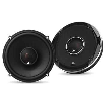 JBL - 2 Pairs Of Stadium GTO620 6.5-Inch Coax Speakers + ARC Audio X2 450.4 500 Watt 4 Channel Amplifier + Wiring Kit