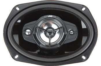JVC CS-DR6941 550W Peak (90W RMS) 6x9 4-Way Factory Upgrade Coaxial Speakers - Pair