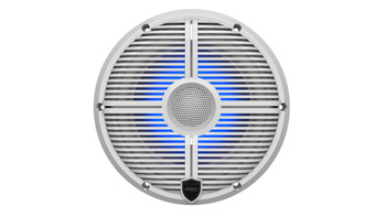 "Wet Sounds RECON 6 XW-W RGB LED Recon Series 6.5"" 60-Watt RMS Coaxial Speakers With White XW Grilles (Pair)"