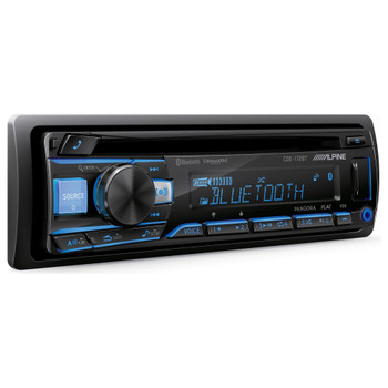 Alpine CDE-172BT CD Receiver with Bluetooth® Wireless Technology - Used Very Good