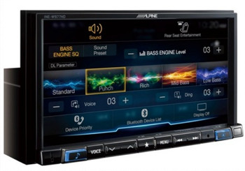 Alpine INE-W977HD Mech-less 7-inch Audio/Video/Navigation (AVN) System - Used Very Good