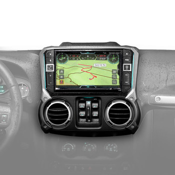 "Alpine X209-WRA-OR 9"" Weather Resistant Restyle System with Off-Road Mode For Jeep Wrangler JKs 11-18 - Used Very Good"