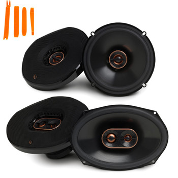 "Infinity Reference - REF-6532EX 6.5"" 2-Way Car Audio Speakers, And REF-9633IX 6x9"" 3-Way Car Audio Speakers Package"
