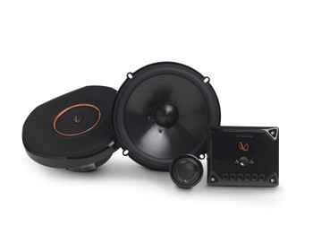 "Infinity Reference - REF-6530CX 6.5"" 2-Way Component System, And REF-6432CFX 4x6"" 2-Way Car Audio Speakers Package"