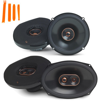 "Infinity Reference - REF-6532IX 6.5"" 2-Way Car Audio Speakers, And REF-9633IX 6x9"" 3-Way Car Audio Speakers Package"