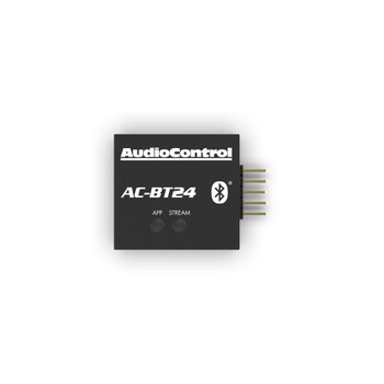 AudioControl AC-BT24 Bluetooth Streamer & Programmer for AudioControl DSP products featuring the Option Port