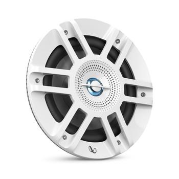 "Infinity KAPPA6120MAM - Kappa Marine KAPPA6120M White 6.5"" Premium 2-Way RGB LED Coaxial Speakers"