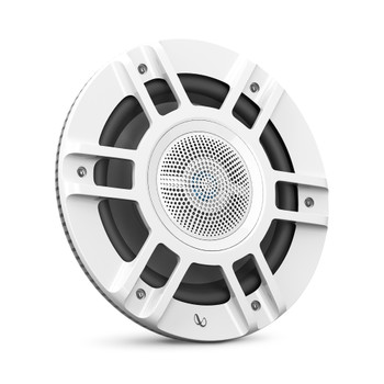"Infinity KAPPA8130MAM - Kappa Marine KAPPA8130M White 8"" Premium 3-Way RGB LED Convertible Speakers"