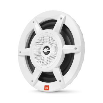 "JBL MW8030AM - Stadium Marine MW8030 White 8"" Premium 3-Way RGB LED Convertible Speakers"
