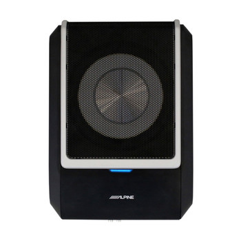 """Alpine PWD-X5 Compact Powered 8"""" Subwoofer System with 4-Channel DSP & Amp"""