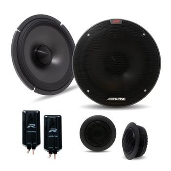 Alpine R-S65C.2 6.5 Inch Component 2-Way Speakers (Pair)