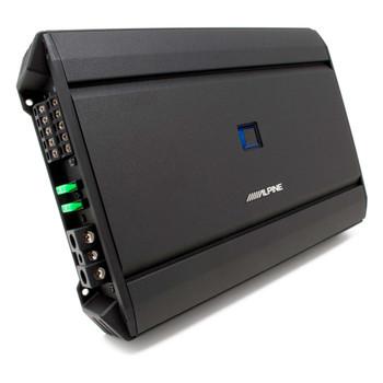 Alpine S-A55V S-Series 5-Channel Digital Amplifier - 60 Watts x 4 @ 2-Ohms & 300 Watts x 1 @ 2-Ohms