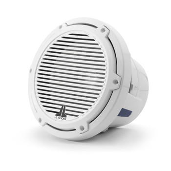 JL Audio 8-Inch M6 Marine Subwoofer, Gloss White, Classic Grille - SKU: M6-8W-C-GwGw-4
