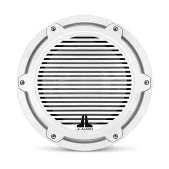 JL Audio 10-Inch M6 Marine Infinite Baffle Subwoofer, Gloss White, Classic Grille - SKU: M6-10IB-C-GwGw-4