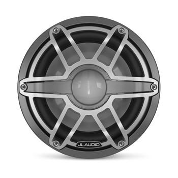 JL Audio 10-Inch M6 Marine Infinite Baffle Subwoofer, Gunmetal & Titanium, Sport Grille - SKU: M6-10IB-S-GmTi-4