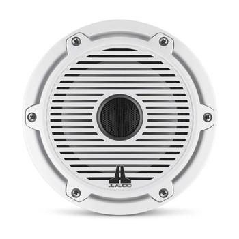 JL Audio 6.5-Inch M6 Marine Coaxial Speaker System, Gloss White, Classic Grille - SKU: M6-650X-C-GwGw