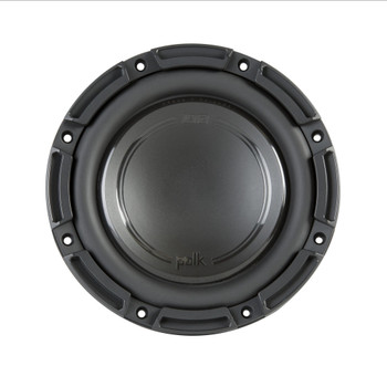 "Polk DB842DVC 8"" Dual 4-Ohm Voice Coil Subwoofer with Marine Certification"