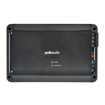 Polk PA D4000.4 Super Efficient Class-D bridgeable 4-channel Amplifier  - 125 RMS X 4 at 4-Ohms