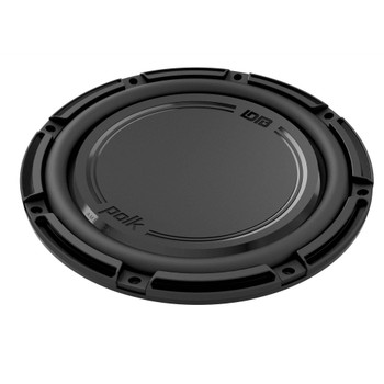 "Polk DB1242DVC 12"" Dual 4-Ohm Voice Coil Subwoofer with Marine Certification"