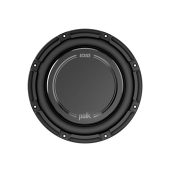 "Polk DB1042DVC 10"" Dual 4-Ohm Voice Coil Subwoofer with Marine Certification"