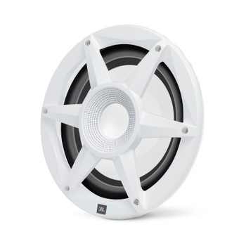 "JBL MW1000AM - Two Stadium Marine MW1000 White 10"" Premium RGB LED Subwoofers"