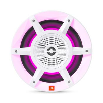 """JBL MW8030AM - Two Pairs Of Stadium Marine MW8030 White 8"""" Premium 3-Way RGB LED Convertible Speakers"""