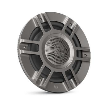 "Infinity KAPPA8135M - Two Pairs Of Kappa Marine KAPPA8135M Titanium 8"" Premium 3-Way RGB LED Convertible Speakers"