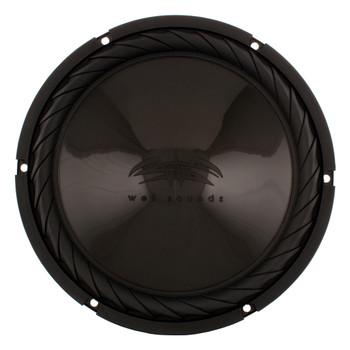 """Wet Sounds SS-10BS4 Black 10"""" Subwoofer & MB Quart NA2-400.2 Marine 2-Channel Amp"""