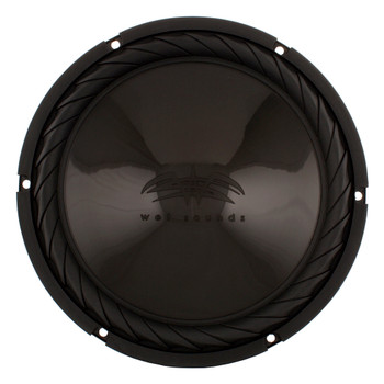 "Wet Sounds - SS-10BS4 Black 10"" Subwoofer with SSV Works Polaris RZR 1000 Behind The Seat Enclosure"