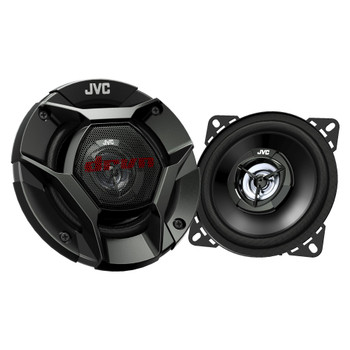 """JVC 4"""" DRVN CS-DR420 220W Peak (35W RMS) 4"""" 2-way DRVN Series Coaxial Car Speakers (Pair) - Used Very Good"""