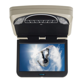 """10.1"""" Digital High Def Overhead Monitor System with DVD and HD Inputs - Open Box"""