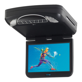 "10.1"" Digital High Def Overhead Monitor System with DVD and HD Inputs - Open Box"