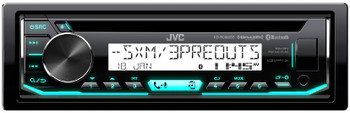 JVC KD-R99MBS Marine Motorsports iPod & Android CD Receiver with Bluetooth - Used Acceptable