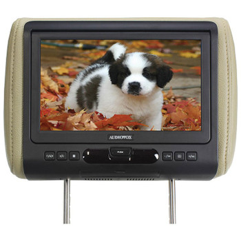 "Audiovox AVXMTGHR9HD 9"" Headrest Monitor system w/ DVD Player, HDMI/MHL Input - Open Box"