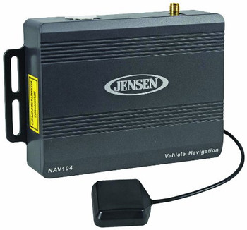 Jensen NAV104 GPS Navigation Add-On for Compatible Jensen In-Dash Monitors - Open Box