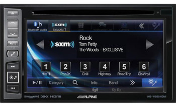 Alpine INE-W960HDMI Audio/Video/Nav System with Sirius XM SXV300 tuner - Used Very Good