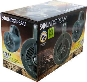 "Soundstream PSS.4 4"" 100 Watt Power Sports Speakers - Used Very Good"